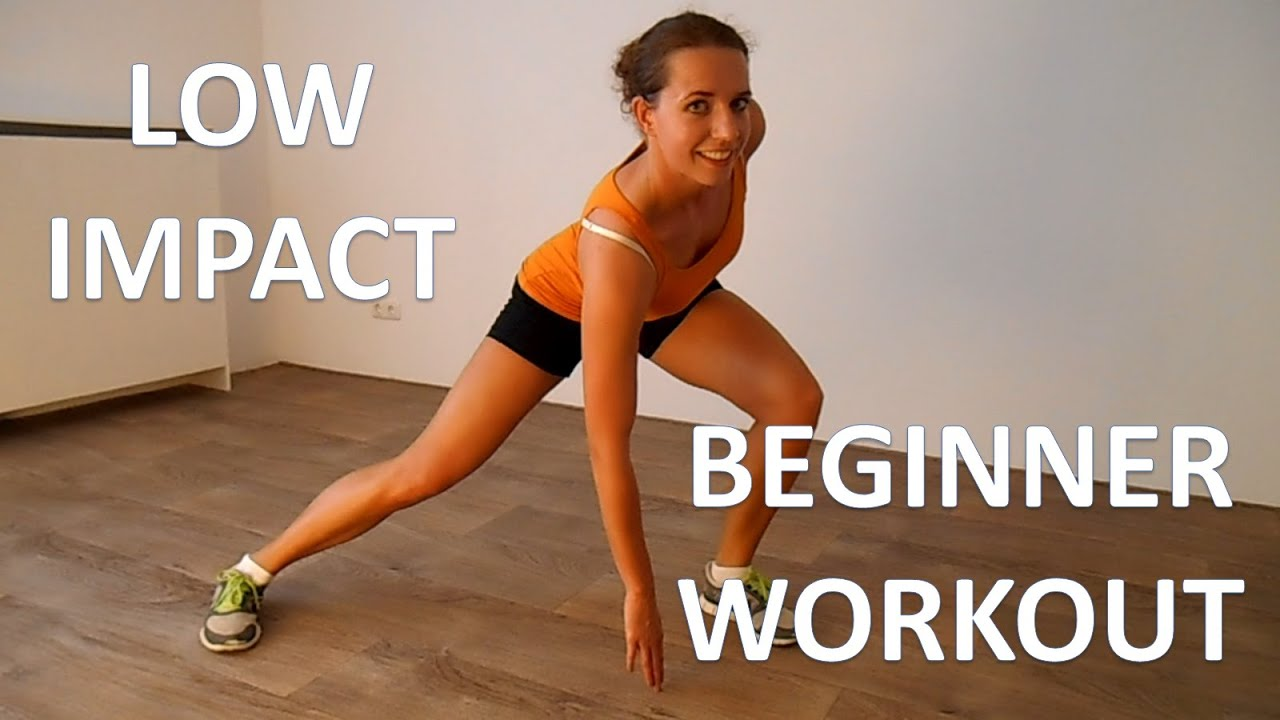 Low Impact Cardio Workout – 20 Minute Beginner Workout ...
