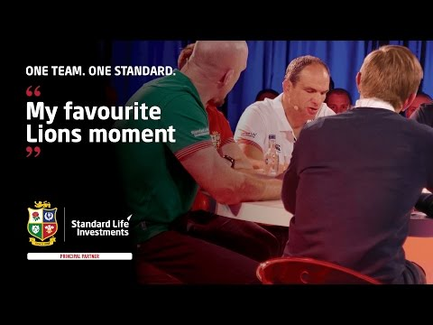 THE SCRUM - Lions legend martin Johnson recalls 'one of his favourite moments'