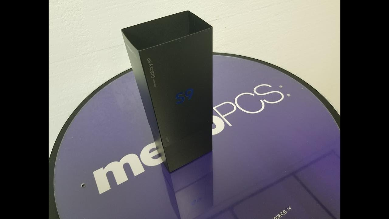 Samsung Galaxy S9 Unboxing For metroPCS What You need to know