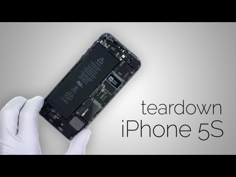iPhone 5S Teardown - Step by step complete disassembly directions