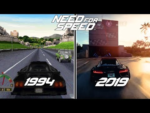 Need For Speed Games Evolution (1994 - 2019)