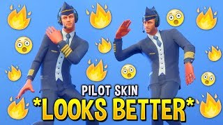 These Fortnite Custom Skins Look Better Than The Original..! (Fortnite Pilot Skin)