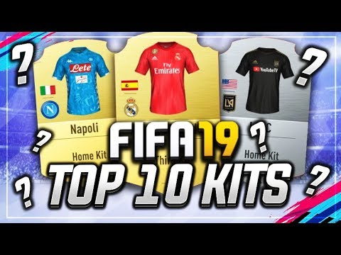 FIFA 19 - TOP 10 BEST KITS - YouTube 8dce653a9