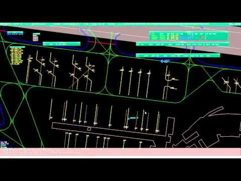 Virtual Airtraffic Control on Zurich Apron (VATSIM)