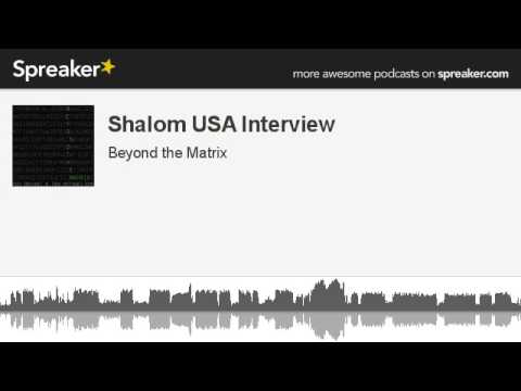 Shalom USA Interview (made with Spreaker)