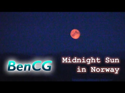 a late night walk in norway with the midnight sun no11 ep 2 youtube. Black Bedroom Furniture Sets. Home Design Ideas