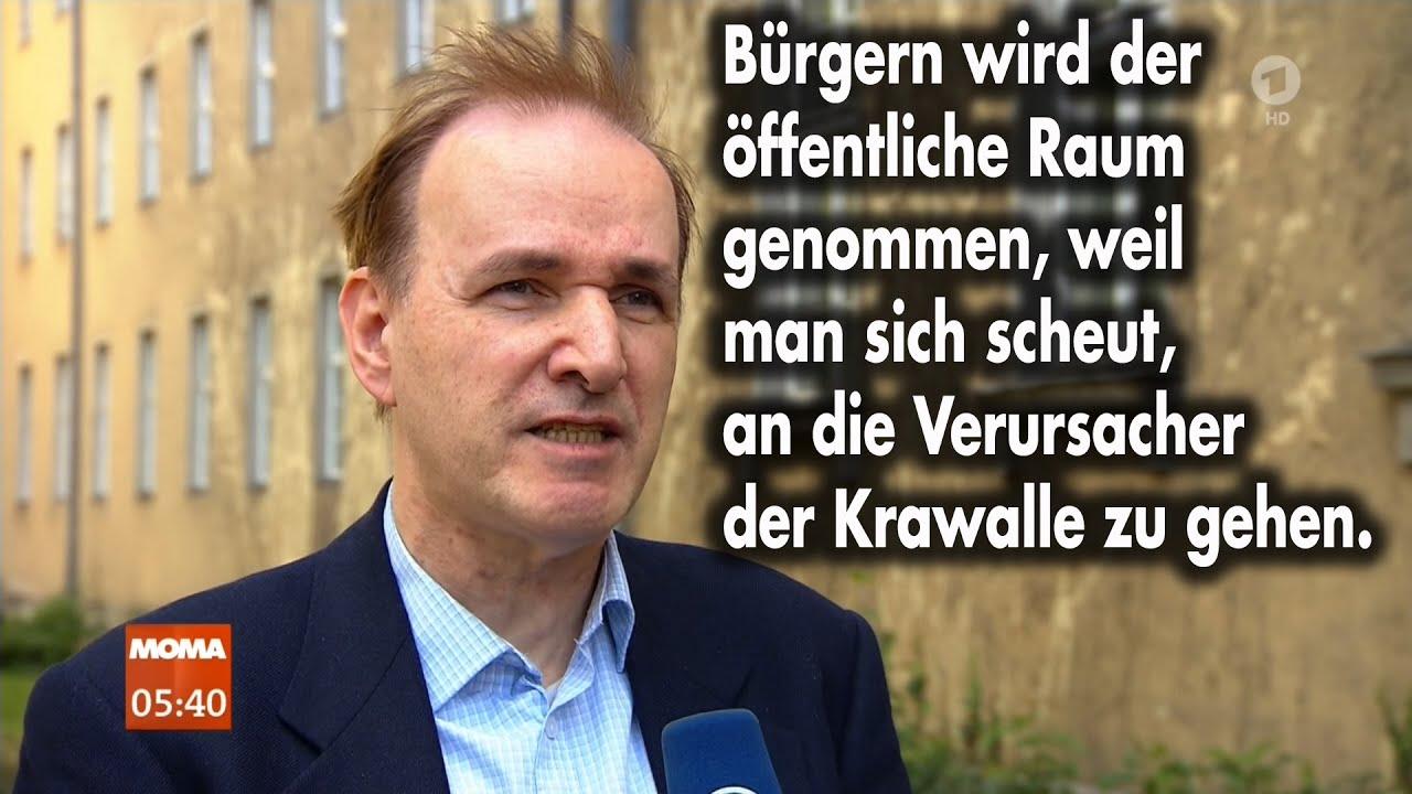 Dr. Curio im Morgenmagazin zur Krawallnacht in Frankfurt