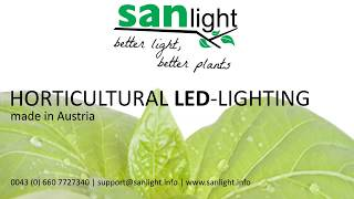 SANlight How to put clamps on SanLight S2W & S4W LED Grow Lights.
