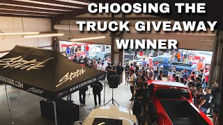 MY FIRST TRUCK GIVEAWAY EVENT!