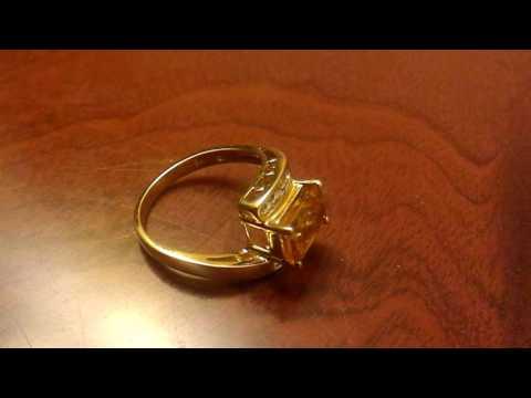 Золотое кольцо 14 карат