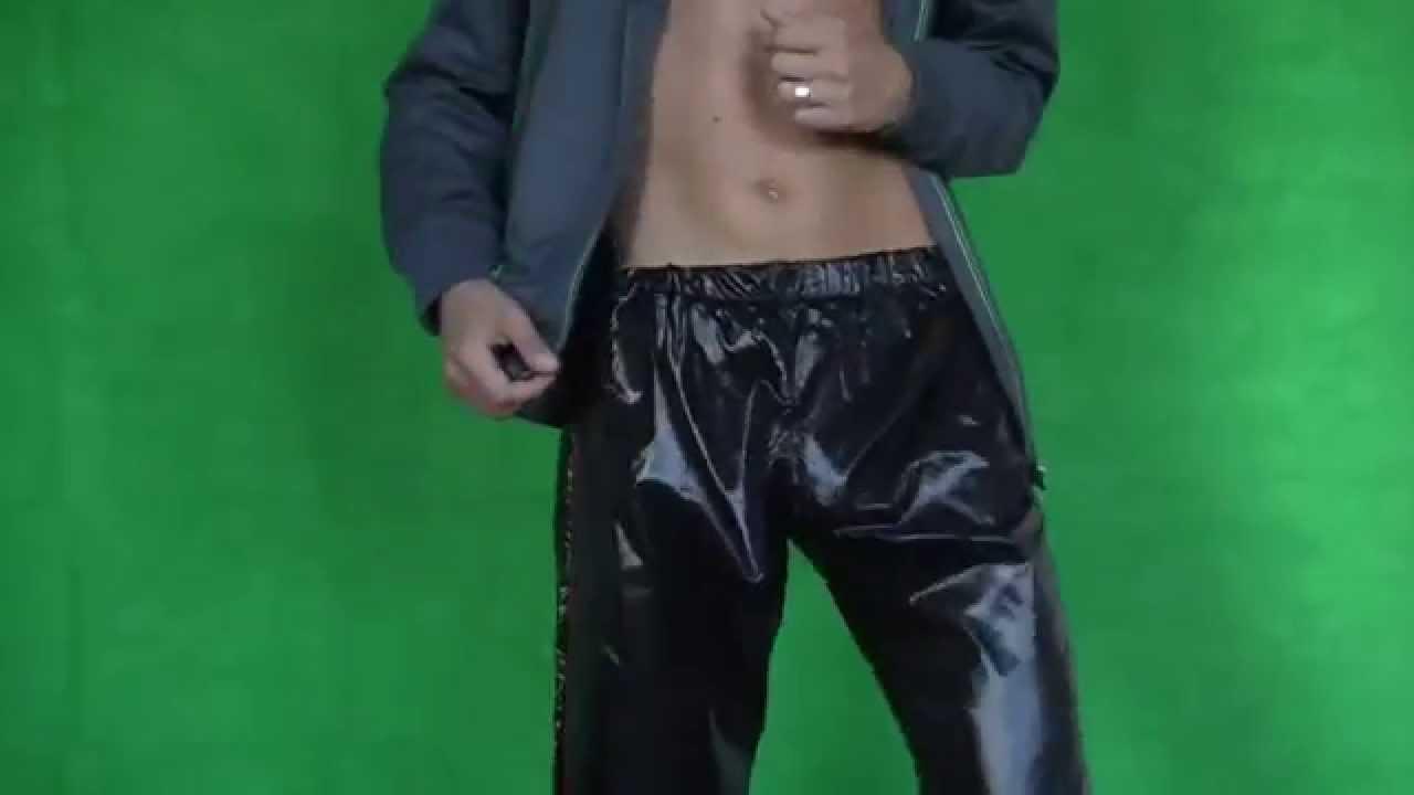 Twink shiny shorts