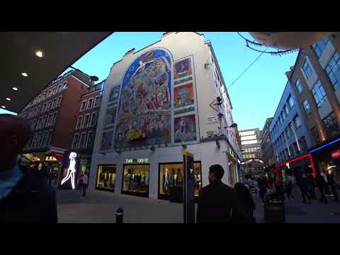 London VIP Sightseeing with Paul Ranky Part3 Soho, Covent Garden, London Transport Museum 4K