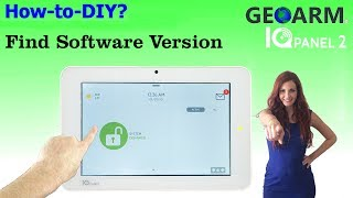 qolsys iq panel 2 how to check software version