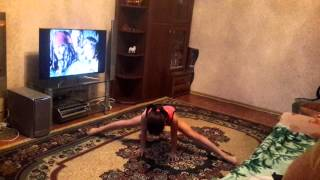 Гимнастика в домашних условиях. Луиза