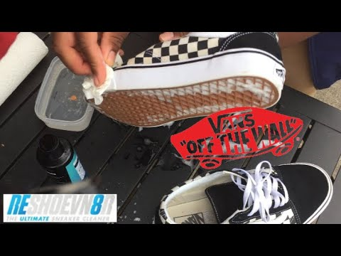 HOW TO CLEAN DIRTY OLD SKOOL VANS??