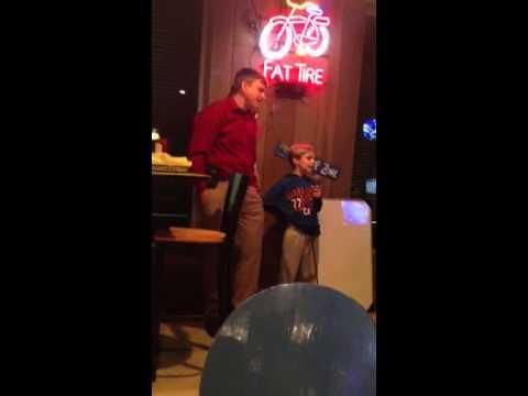 Dave and Heath karaoke