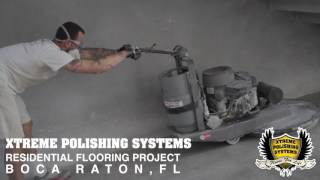 How to Polish a Residential Concrete Floor