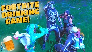 GETTING DRUNK IN: FORTNITE BATTLE ROYALE! (Fortnite Drinking Game)