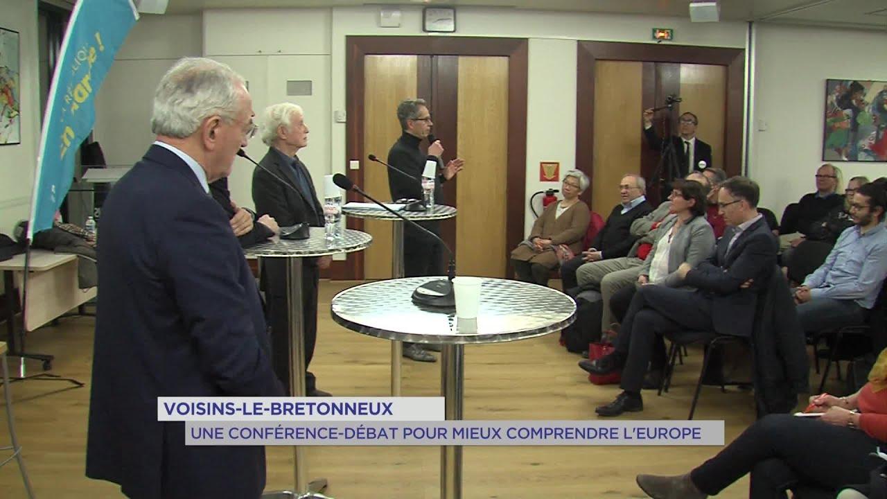 Yvelines | Voisins-le-bretonneux : une conférence-débat pour mieux comprendre l'Europe