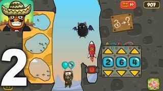Amigo Pancho - SIBERIA All Levels Gameplay Walkthrough Part 2 (iOS, Android)