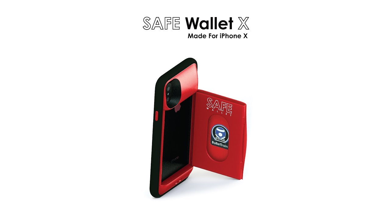outlet store faa3f c1d15 SAFE Wallet X Wallet Case for iPhone X Demo