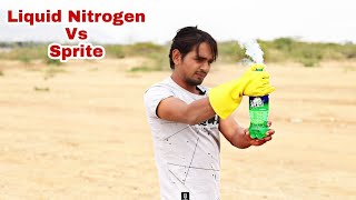 Don't Mix Liquid Nitrogen With Sprite thumbnail