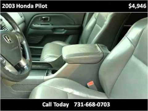 2003 Honda Pilot Used Cars Jackson TN