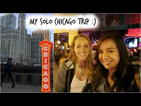 My Solo Trip to Chicago!
