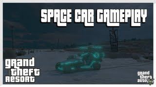 GTA 5 - SPACE CAR GAMEPLAY (Grand Theft Auto 5 Secrets)
