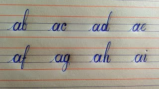 how to join letters in cursive ll how to join letters in english ll handwriting practice ll abcd