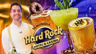 Craft Cocktails at the Seminole Hard Rock Hotel & Casino's L Bar