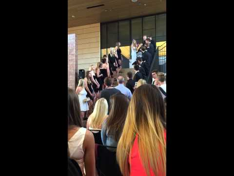 "Chanhassen High School - Senior Prank for Class of 2015 ""Z and Brooke's Wedding"""