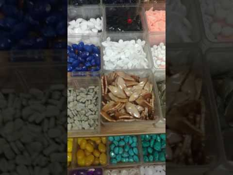 Acrylic colors stones from Qingdao Shijie Fashion jewelry