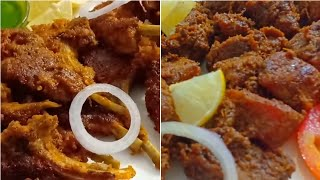 Tandoori Mutton Chap Fry Aur Mutton Barra Recipe | Bakra Eid Special Recipes | Mutton Recipes