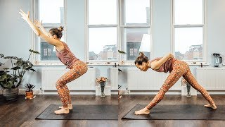 Y53 - Yoga for Strong & Lean Legs and Glutes - Build a Booty Yoga Class / Silke Dewulf
