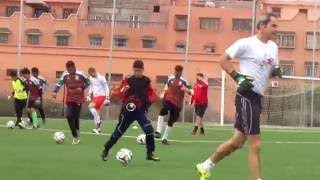 Morocco Sports Academy : détection gardiens de but (Marrakech / mars 2016)