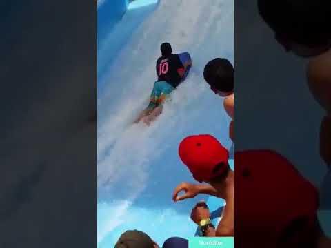 Fun in Flow water rides in wild wadi water park dubai