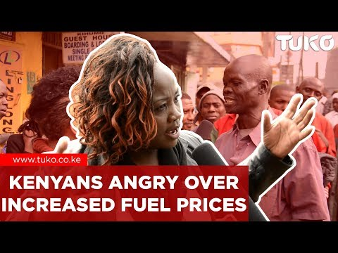 Breaking News Kenya: Kenyans Angry Over High Fuel Prices | Tuko TV