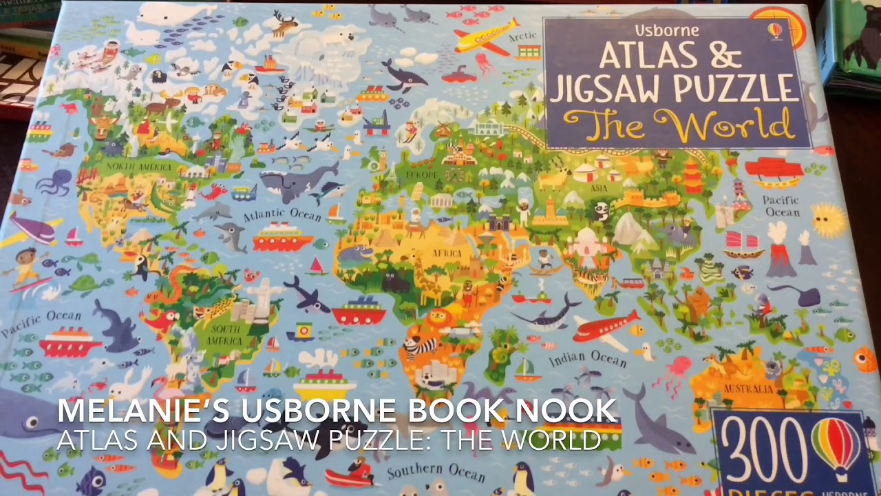 Usborne books more atlas jigsaw puzzle the world youtube usborne books more atlas jigsaw puzzle the world gumiabroncs Image collections