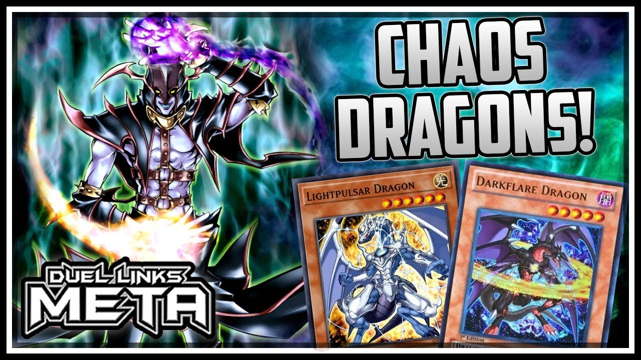 Chaos Dragons The Power Of A Light And Dark Deck Yu Gi Oh Duel