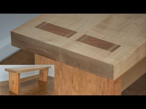 The right way to Make a Bench with Conventional Woodworking Joinery