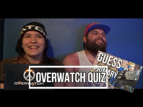 Overwatch Quiz! Guess The Primary Fire