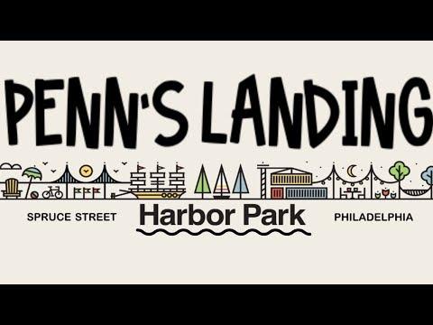 Penn's Landing Water Front- Spruce Street Harbor Park