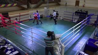 Чемпионат РК-2014, полуфинал. 60 кг. Кушенбаев - Сафиуллин