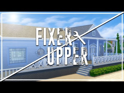 CLUB CALICO // The Sims 4: Fixer Upper - Speed Renovation
