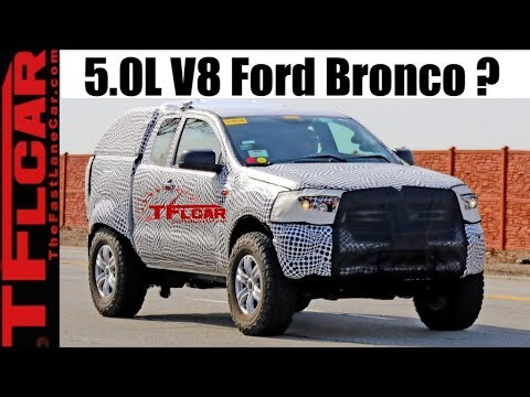 Breaking News Leak: New Ford Bronco Could Get RAPTOR Treatment AND F-150 Coyote 5.0 V8!