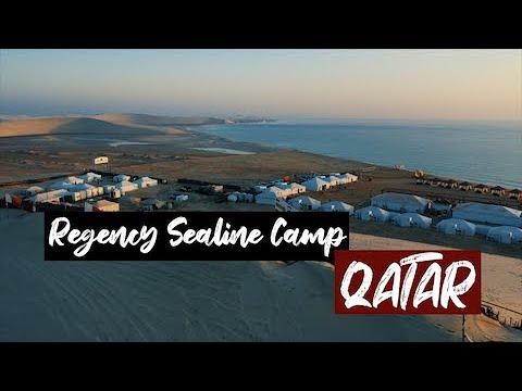 REGENCY SEALINE CAMP - QATAR | IT'S AMAZING!