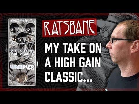 My take on the Rat Circuit - Wampler Ratsbane