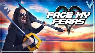 Kingdom Hearts 3 - Face My Fears [EPIC METAL COVER] (Little V)