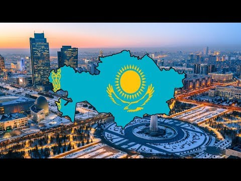 Kazakhstan Map - Speed Art